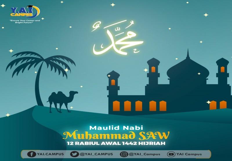 Maulid Nabi Muhammad SAW 12 Rabiul Awal 1442 Hijriah