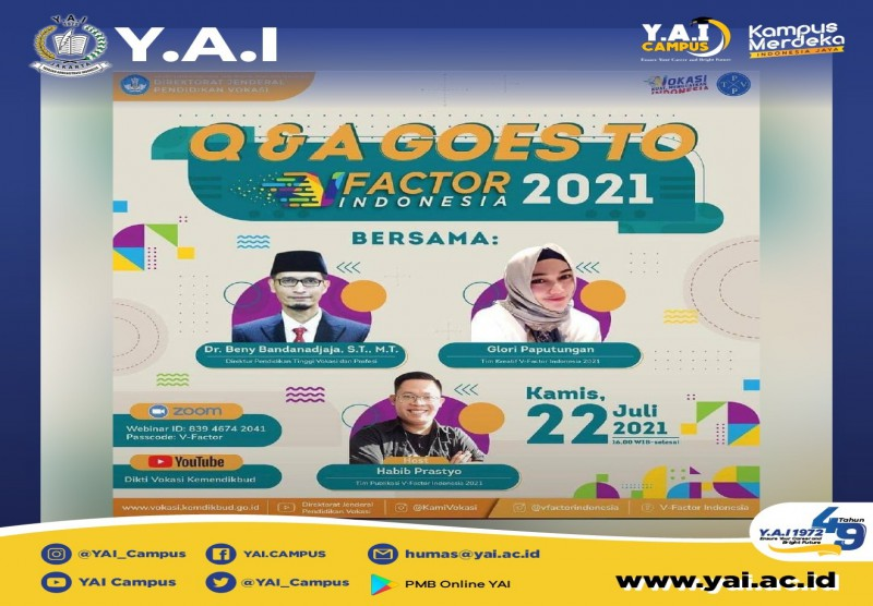 Q & A Goes To V-Factor Indonesia 2021