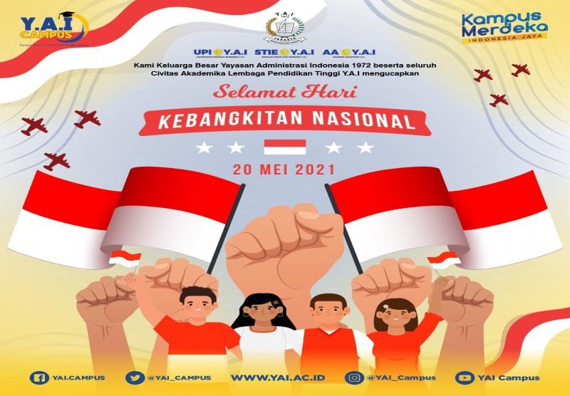 Selamat Memperingati Hari Kebangkitan Nasional 20 Mei 2021
