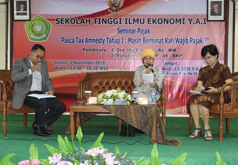 Seminar Pajak - Pasca Tax Amnesty Tahap 1