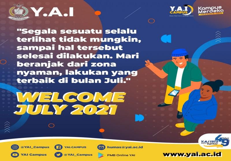 Welcome Juli 2021