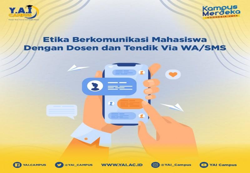 Etika Berkomunikasi Mahasiswa dengan Dosen dan Tendik Via WA/SMS