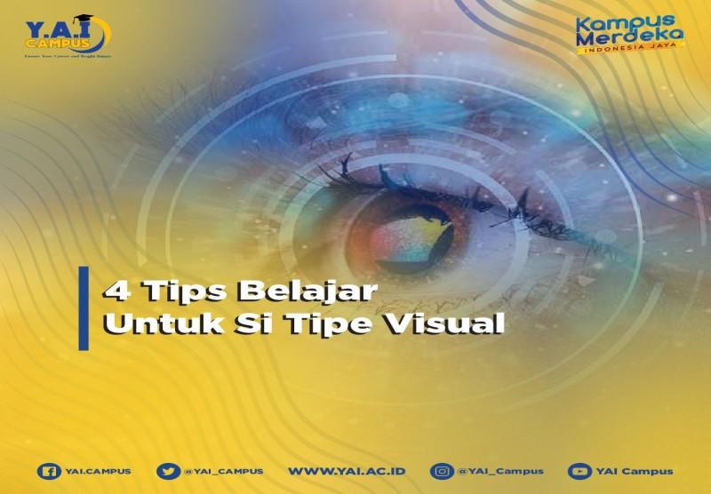 Tips Belajar Untuk Orang Dengan Tipe Visual